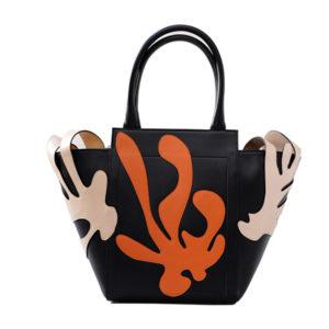 Corallo-beige-nero-arancio-De-rosis